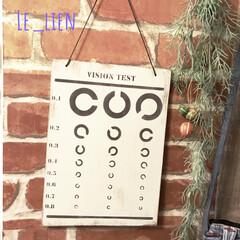サインボード/サインプレート/インテリアボード/ステンシル/DIY/雑貨/... メルカリで購入したステンシルシートで作り…