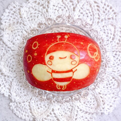 お弁当/ランチ/りんご飾り切り/お昼ごはん/こいのぼり弁当/こいのぼり/... 今日の娘弁当です❤️ 30gのミニおにぎ…(3枚目)