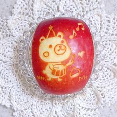 ハッシュドポテト/りんご飾り切り/ランチ/お昼ごはん/手作り弁当/パン弁当/... 今日の娘弁当♥️ ロールサンド弁当です🙋(5枚目)