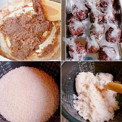 手作りお菓子/手作り和菓子/和菓子/おうちカフェ/桜餅/こどもの日 こどもの日に柏餅じゃなく 桜餅作りました…(5枚目)