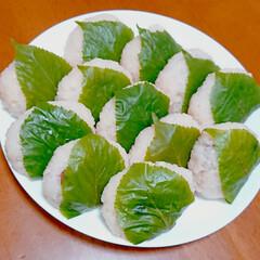 手作りお菓子/手作り和菓子/和菓子/おうちカフェ/桜餅/こどもの日 こどもの日に柏餅じゃなく 桜餅作りました…(4枚目)
