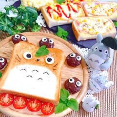 トーストアレンジ/食パンアレンジ/ランチ/お昼ごはん/おうちごはん/おうちご飯/... 今日のお昼ごはんです😃