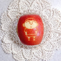 飾り切り/ラディッシュ/りんご/バターライス/高校生男子弁当/息子弁当/... 今日の息子のお弁当です😃(3枚目)