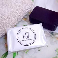 FAZ 薬用ブライトソープ 100g | FAZ(その他洗顔料)を使ったクチコミ「モニターキャンペーンにて 『FAZ薬用ブ…」