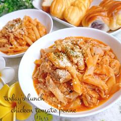 お昼ごはん/作り置き/チキン/令和の一枚/フォロー大歓迎/LIMIAファンクラブ/... 今日の子供達の お昼ご飯、作り置きです😊…