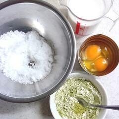 手作りおやつ/手作りお菓子/シュークリーム/抹茶カスタード/抹茶シュークリーム/ハンドメイド/... 抹茶シュークリーム❤️ 普通のシュー生地…(5枚目)