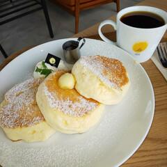 Cafe/カフェ/ランチ/lunch/pancake/パンケーキ 久しぶりのカフェに行きました😋