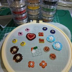 スパンコール/刺繍/ビーズ/beads/アクセサリー/accessory/...
