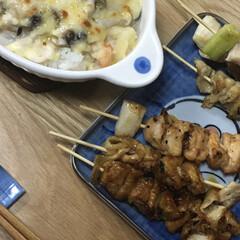 今日の晩御飯 今日の晩ご飯です。美味しく食べました。