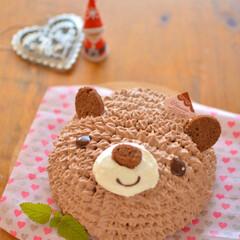 おうちカフェ/LIMIA手作りし隊/手作りスイーツ/ケーキ作り/立体ケーキ/キャラクターケーキ/... 友人一家が遊びに来るので デザートに チ…