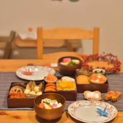 晩ごはん/おせち料理/お節/お正月/お節料理/LIMIAごはんクラブ/... あけましておめでとうございます♪  年末…