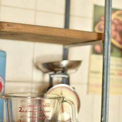 調理グッズ/耐熱ガラス食器/耐熱ガラス/計量カップ/おうちグッズ/お気に入り/... キッチン周りのお気に入りシリーズ、 耐熱…(1枚目)