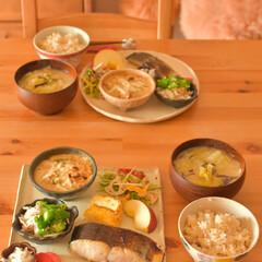 ごはん記録/ごはん/和食器/料理好き/在宅勤務ごはん/昼ごはん/... たまにはごはん写真を…  相変わらず夫の…