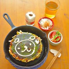 スキレット/ニトスキ/カフェ風インテリア/お気に入りアイテム/limiaキッチン同好会 定番アイテムですがσ^_^; ニトリのス…
