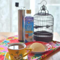 エスニック雑貨/アジアカフェ/手作りパン/おやつの時間/おうちカフェ/おやつタイム/... 香港カフェ定番メニューの コーヒー紅茶と…