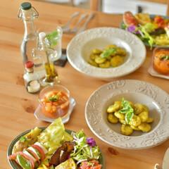 料理好き/ふたりごはん/フレンチデリ/イタリアン/ごはん/おうちランチ/... なかなか頑張ったお昼ごはんをまとめて… …