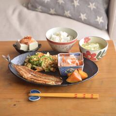 ごはん/和食/和んぷれーと/キッチン雑貨/住まい/ニトリ/... いつかの和んぷれーとごはん。