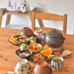 料理好き/おうち時間/おうちで過ごそう/和食/炊きたてごはん/おうちcafé/... 最近の我が家のブームは 土鍋ごはんです☆…