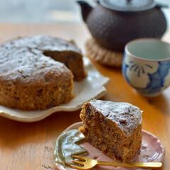 余ったおやつ/二人暮らし/おうちおやつ/お菓子作り/おからパウダー/おからケーキ/... 夫もずっと家にいるので おうちおやつに …