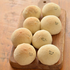パン/おウチカフェ/おうちカフェ/パン作り/手作りパン/令和の一枚/... パン焼きました(*´꒳`*)  シンプル…