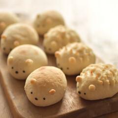 LIMIA手作りし隊/パン作り/干支/手作りパン/LIMIAごはんクラブ/料理/... 今年の初焼き、 ハリネズミとネズミのパン…