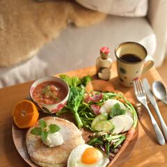 LIMIAごはんクラブ/家ごはん/昼ごはん/直売所/野菜好き/野菜たっぷり/... いつかのおうちカフェランチの写真を2枚。…