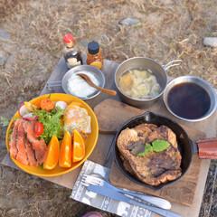 アウトドア/ひとりキャンプ/LIMIA手作りし隊/LIMIAごはんクラブ/キャンプ飯/ごはん/... ひとりキャンプのキャンプごはん。  色々…