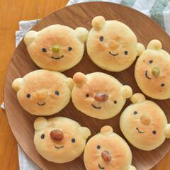 くまパン/くま好き/おうちパン/手作りパン/料理好き/おうちごはん/... パンを焼く時、どうしようか迷ったときは …