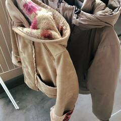 暮らし/習慣/我が家の習慣/冬の汗/コートの匂い対策/コート/... 我が家のコート置き場、常にではありません…