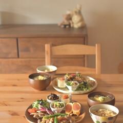 ごはん/二人暮らし/ワンプレートランチ/料理好き/キャンプギア/アウトドアグッズ/... 去年買ったお気に入りの食器をもう一つ。 …(2枚目)