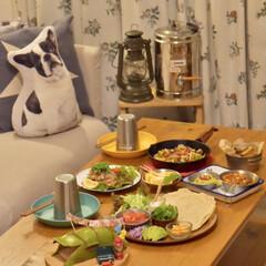 晩ごはん/家飲みごはん/家飲み/誕生日パーティー/メキシコ料理/メキシカン/... 暑くなってくると、やっぱり スパイスの効…