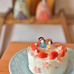 LIMIA手作りし隊/苺ショート/ひなまつり/ouchicafe/おうちカフェ/結婚記念日/... 旧暦のひなまつりが入籍記念日の我が家 今…