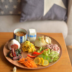 野菜好き/野菜のおかず/ワンプレート/雨季ウキフォト投稿キャンペーン/令和の一枚/フォロー大歓迎/... 野菜のおかず色々な ワンプレートお昼ごは…