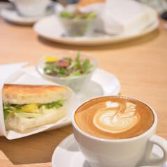 カフェ/古民家/京都/令和の一枚/LIMIAファンクラブ/至福のひととき/... 京都のステキなカフェで サンドイッチのラ…