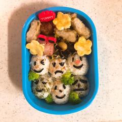 幼稚園ママ/年少さん/園児/弁当/暮らし お弁当の記録  年少の息子用お弁当。 今…