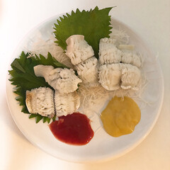ZERO JAPAN カフェプレートL CFZ-08 WH・ホワイト | ZERO JAPAN(皿)を使ったクチコミ「夕ご飯の一品  お皿に盛っただけですが笑…」(1枚目)