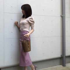 coordinate/fashion/ootd/ファッション タイトなトップスとスカートでかっこよさを…