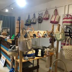ハンドメイド/Handmade/手編み/かぎ針編み/バッグ/納品/... 先日、藤沢OPAの委託先に納品してきまし…