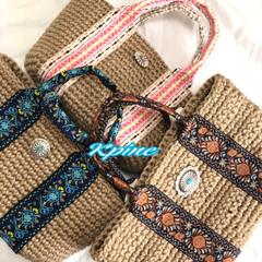 イベント/イベント出店/かぎ針編み認定講師/かぎ針編み/手編み/手作り/... 可愛いのでーきた(❁´ω`❁)♥️ お譲…