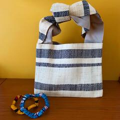 アフリカン/エスニック/雑貨/暮らし/笑福Lotus マダガスカル🇲🇬の椰子で作られたバッグと…