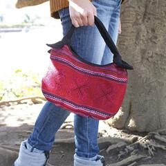 アジアン/バッグ/雑貨/ファッション/笑福Lotus ベトナム🇻🇳モン族刺繍のバッグ  羽織り…