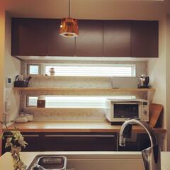 キッチン/キッチン収納/オープンキッチン/カップボード/料理/料理が捗るキッチン/... 料理が苦手な私でも、スムーズにご飯が作れ…