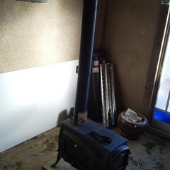 薪ストーブ/DIY 土壁&砂壁、土間。。どうしようかなぁ~⤵️