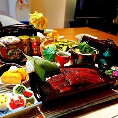 大好物/ふたりごはん/食卓/関屋蒲鉾/スタミナ/夏野菜/... 土用の丑の日 7月27日(土)の晩ごはん…