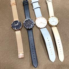 大理石風/高見え/高見えアイテム/腕時計倶楽部/腕時計好き/腕時計/... ♡ダイソー・超高見え腕時計♡  ダイソー…