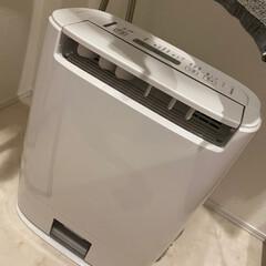 パナソニック 衣類乾燥除湿機 F−Y60T9−W ホワイト | パナソニック(衣類乾燥機)を使ったクチコミ「♡梅雨の洗濯物♡  梅雨で毎日乾燥機も電…」
