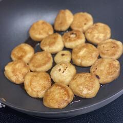 キッコーマン 豆乳おからパウダー(その他インテリア雑貨、小物)を使ったクチコミ「♡超ヘルシーなんちゃって芋餅♡  じゃが…」