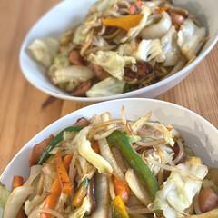 味の素 中華あじ 55g瓶 1個 | 味の素(だし、ブイヨン、がらスープ)を使ったクチコミ「♡今日のランチ♡  野菜たっぷり焼きそば…」