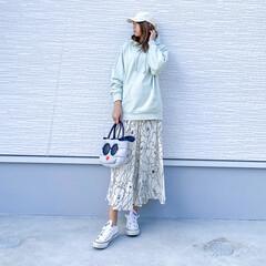 coca/コカ/花柄スカート/大柄スカート/花柄/スカートコーデ/... 今日の1枚♡coca・花柄スカート♡  …
