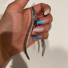 甘皮ニッパー | 貝印(その他メイク道具)を使ったクチコミ「ネイルお直しではもちろん、子供達の爪を切…」